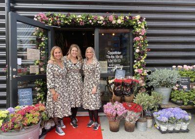 invigning team elins blomsterglädje